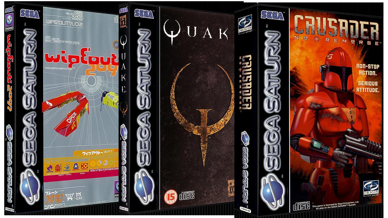 Sega Saturn 3D Boxes Pack (Europe) - Artwork - EmuMovies
