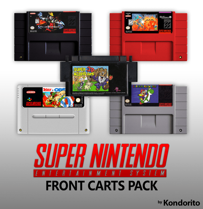 Super Nintendo 2D Cartridges Pack